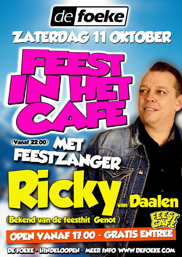 Zaterdag 11 Oktober - Ricky van Daalen - De Foeke - Hindeloopen