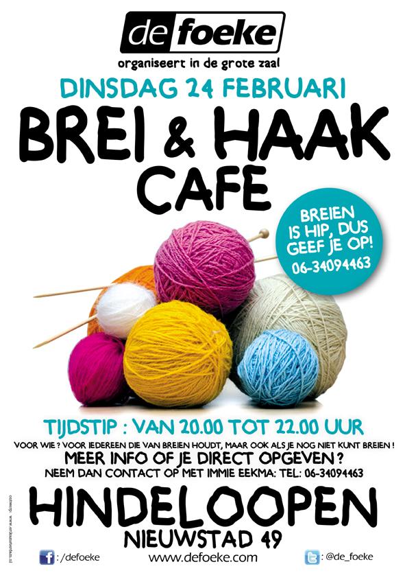 Dinsdag 24 Februari - Brei & Haakcafe - De Foeke - Hindeloopen