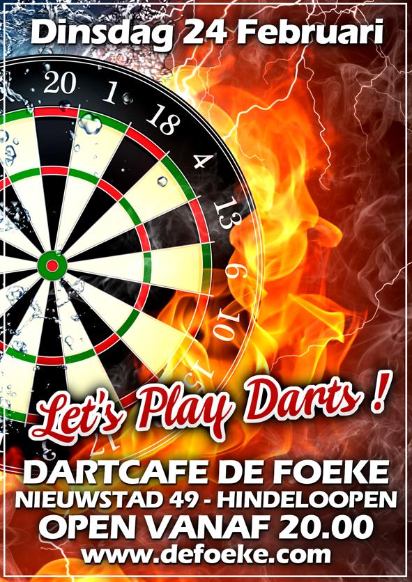 Dinsdag 24 Februari - Dartcafe - De Foeke - Hindeloopen