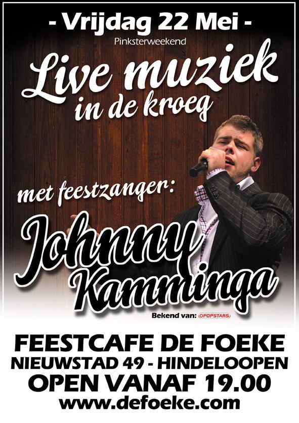 Vrijdag 22 Mei - Live Muziek In De Kroeg - Feestcafe De Foeke - Hindeloopen