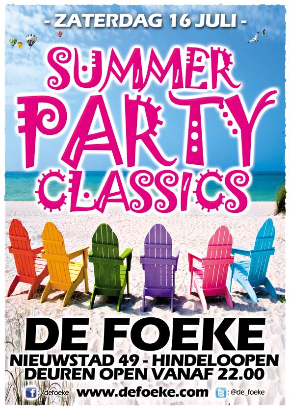 Zaterdag 16 Juli: Summer Party Classics